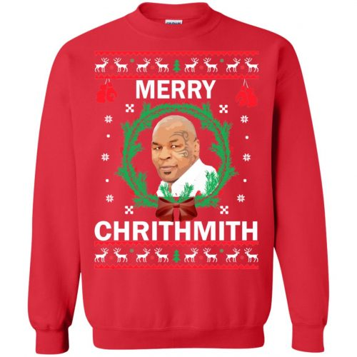 Mike Tyson Merry Chrithmith Ugly Sweater, Shirt, Hoodie - image 4662 500x500