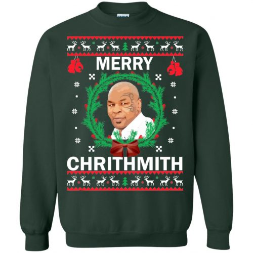 Mike Tyson Merry Chrithmith Ugly Sweater, Shirt, Hoodie - image 4663 500x500