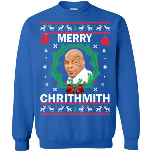 Mike Tyson Merry Chrithmith Ugly Sweater, Shirt, Hoodie - image 4664 500x500