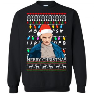 Stranger Things Eleven Merry Christmas Sweater, Ugly Sweatshirts - image 5049 300x300