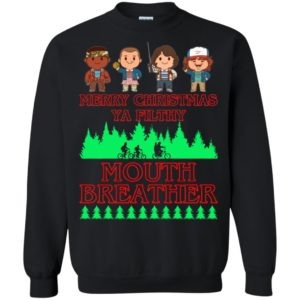 Stranger Things Merry Christmas Ya Filthy Mouth Breather Sweater, Shirt - image 5145 300x300