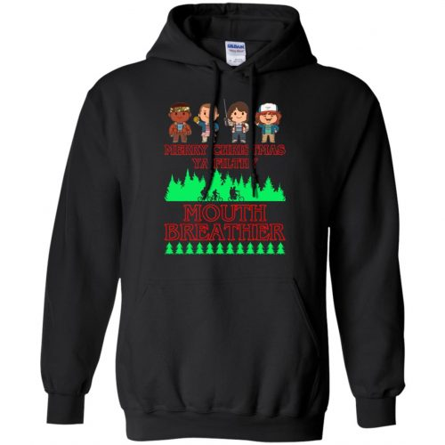 Stranger Things Merry Christmas Ya Filthy Mouth Breather Sweater, Shirt - image 5154 500x500