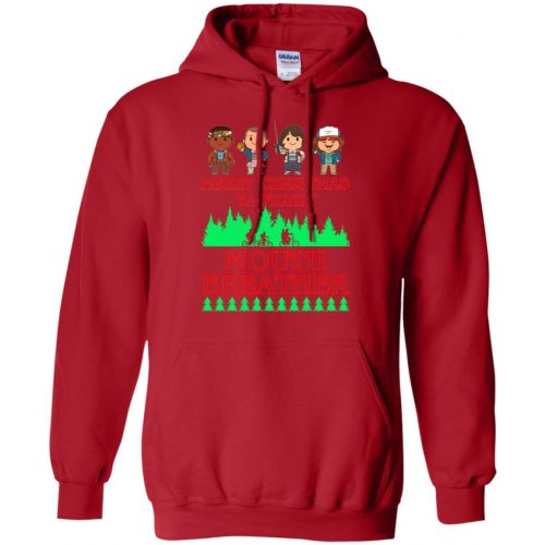 Stranger Things Merry Christmas Ya Filthy Mouth Breather Sweater, Shirt - image 5156 500x500