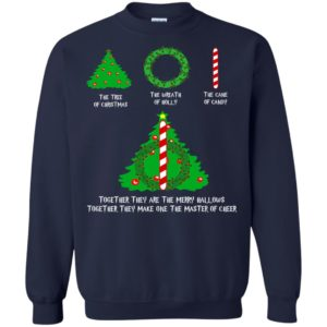 The Tree Of Christmas The Wreath Of Holly The Cane Of Candy Shirt, Sweater - image 1362 300x300