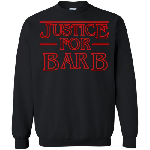 Stranger Things: Justice For Barb Shirt, hoodie, sweater - image 1580 500x500