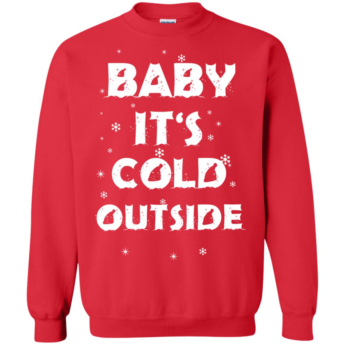 baby its cold outside christmas sweater hoodie image 1885 500x500