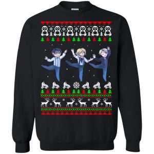 Yuri On Ice Christmas Sweater, Ugly Sweatshirts - image 19 300x300
