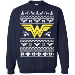 Wonder Woman Christmas Sweater, Hoodie, Long Slee - image 1908 300x300
