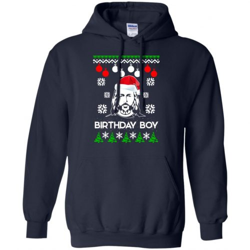 Jesus Birthday Boy Ugly Christmas Sweater, Crewneck Sweatshirt - image 2219 500x500