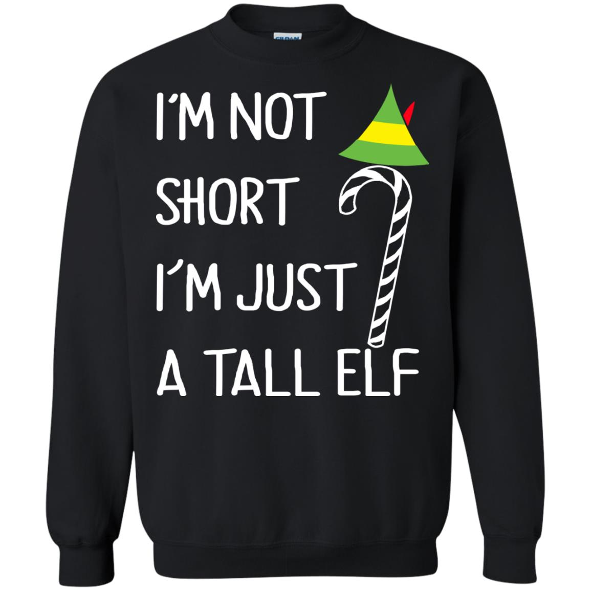 I\'m Not Short I\'m Just a Tall Elf Christmas Sweater, Hoodie - Icestork