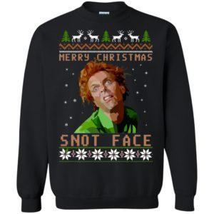 Drop Dead Fred Snot Face Christmas Sweater, Ugly Sweatshirts - image 2520 300x300