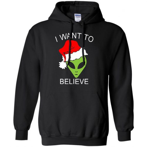Alien I Want To Believe Christmas Sweatshirt, Hoodie - image 2689 500x500