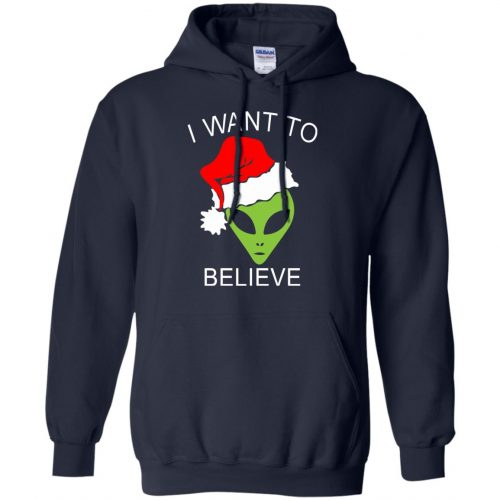 Alien I Want To Believe Christmas Sweatshirt, Hoodie - image 2690 500x500
