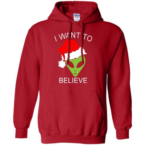 Alien I Want To Believe Christmas Sweatshirt, Hoodie - image 2691 500x500