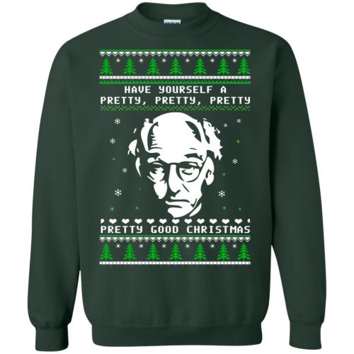 Larry David Have yourself a Pretty Good Christmas Ugly Sweater, T-shirt - image 274 500x500