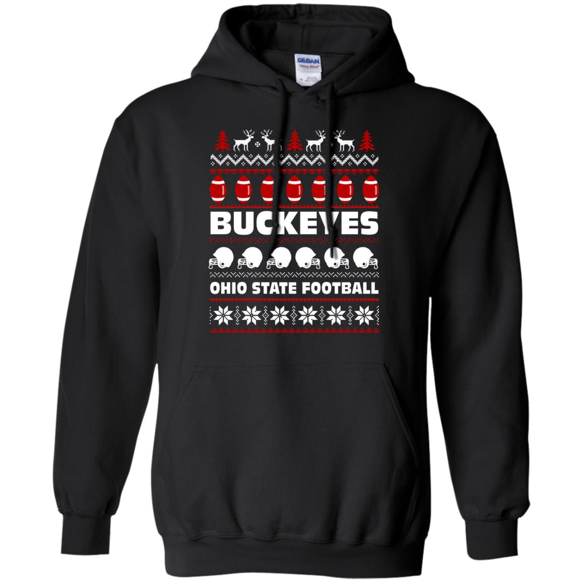 Buckeyes Ohio State Football Ugly Christmas Sweater, Hoodie - Icestork
