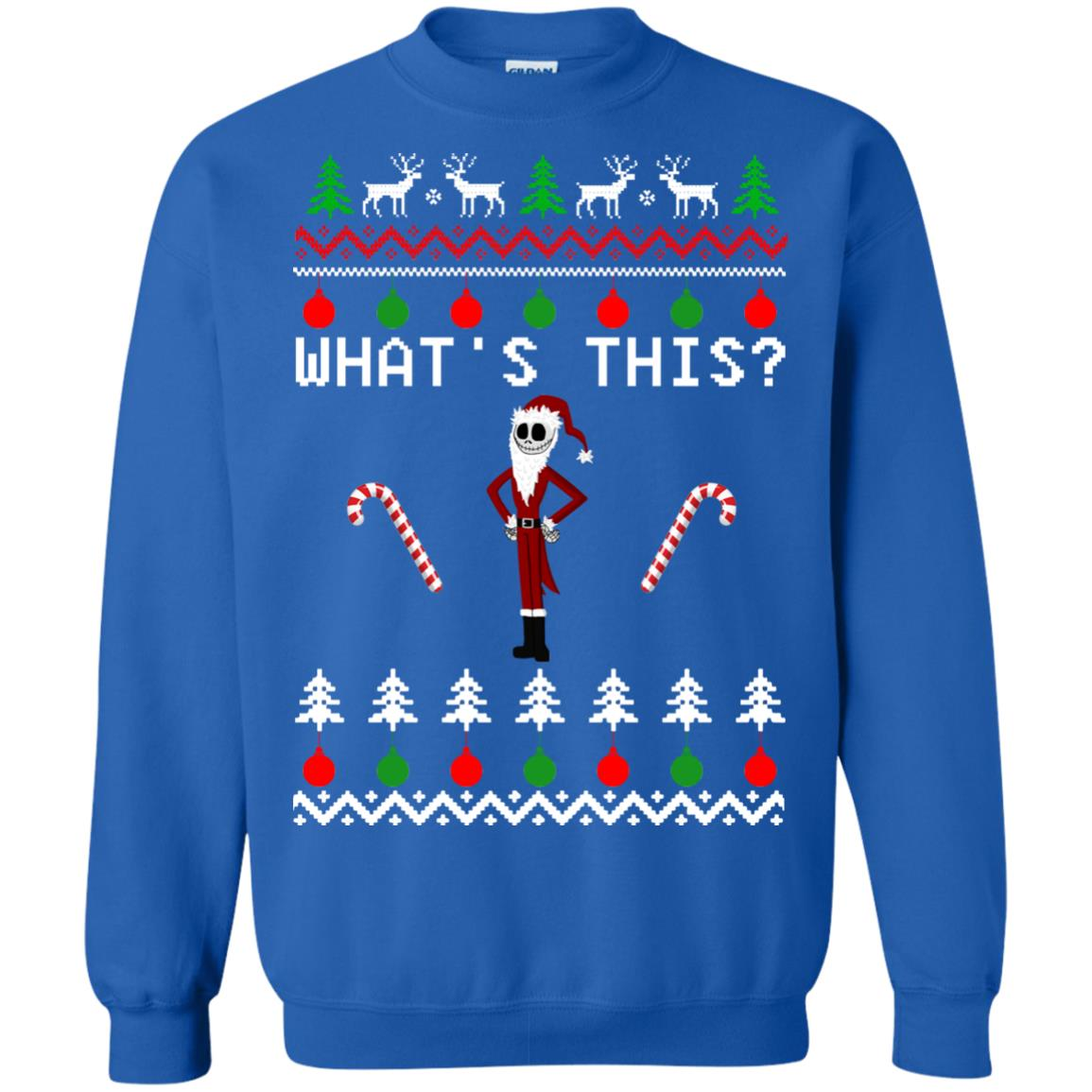 Jack Skellington: What\'s This Nightmare Before Christmas Sweater ...