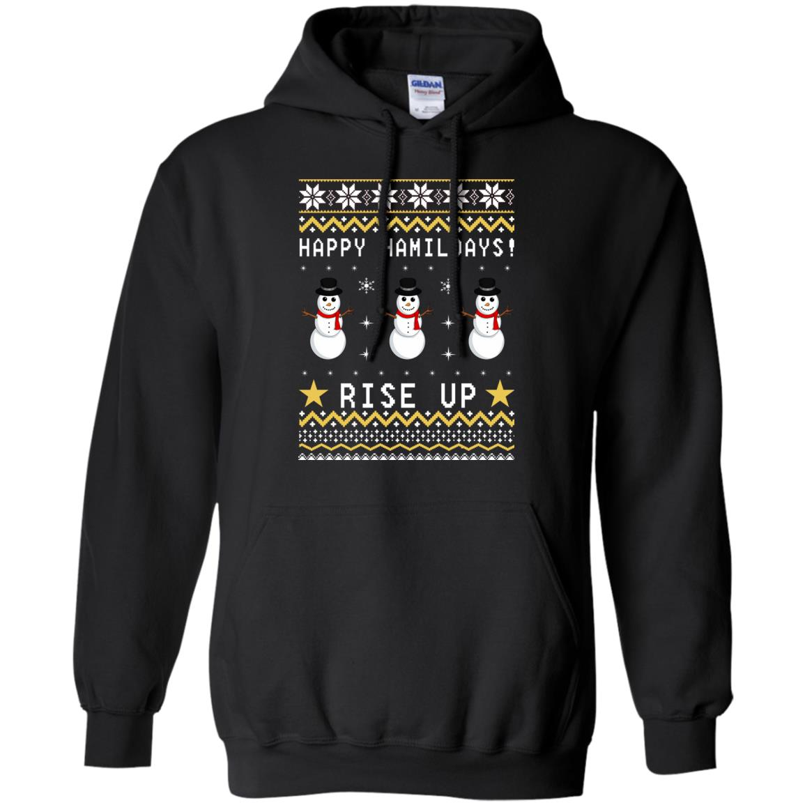 Happy Hamildays Rise Up Christmas Ugly Sweater, Shirt - image 3394