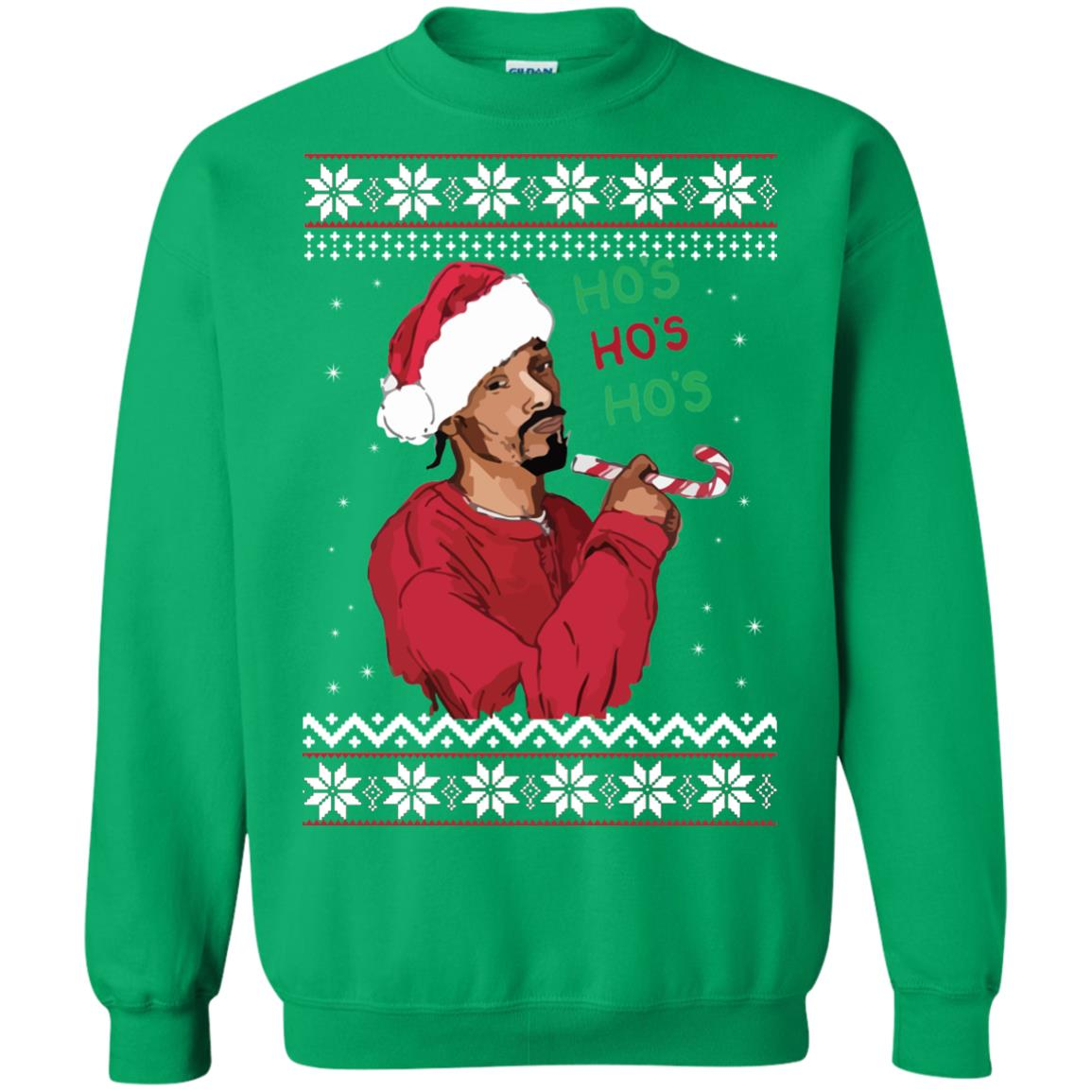 Snoop Dogg Christmas.Snoop Dogg Christmas Sweater Hoodie Long Sleeve Icestork