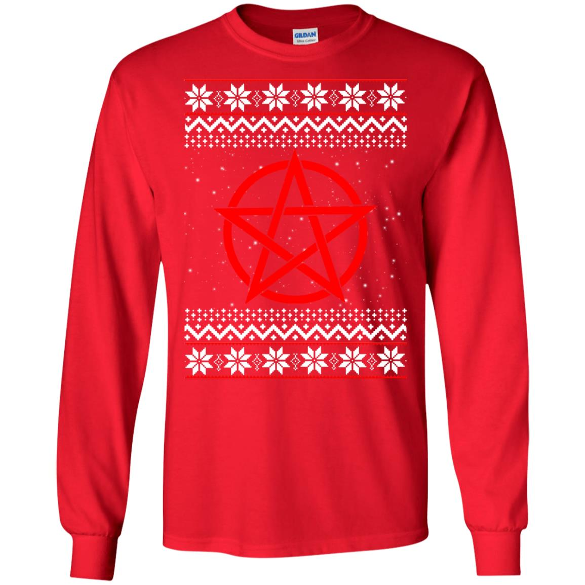 Satanic Christmas Sweater.Satanic Christmas Sweater Hoodie Long Sleeve Icestork