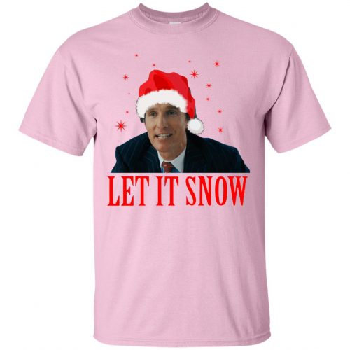 Mark Hanna Wall Street Let It Snow Sweater, Hoodie - image 639 500x500