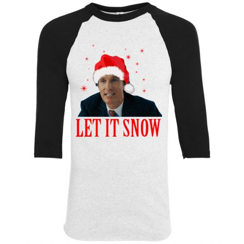 Mark Hanna Wall Street Let It Snow Sweater, Hoodie - image 640 500x500