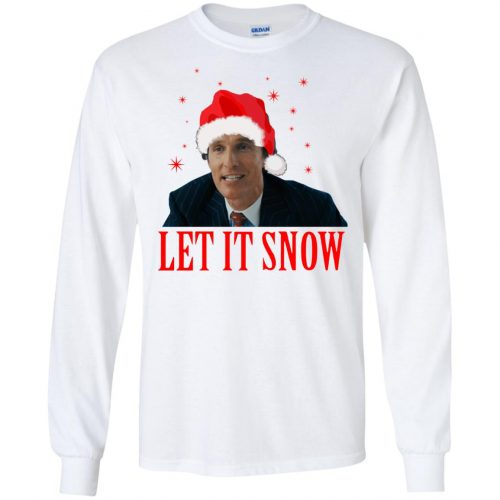 Mark Hanna Wall Street Let It Snow Sweater, Hoodie - image 643 500x500