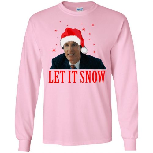 Mark Hanna Wall Street Let It Snow Sweater, Hoodie - image 644 500x500