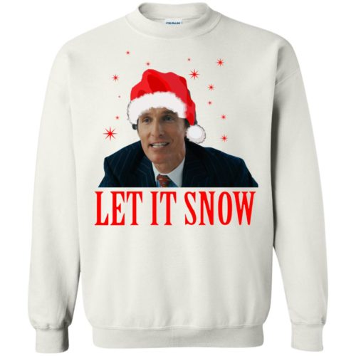 Mark Hanna Wall Street Let It Snow Sweater, Hoodie - image 647 500x500
