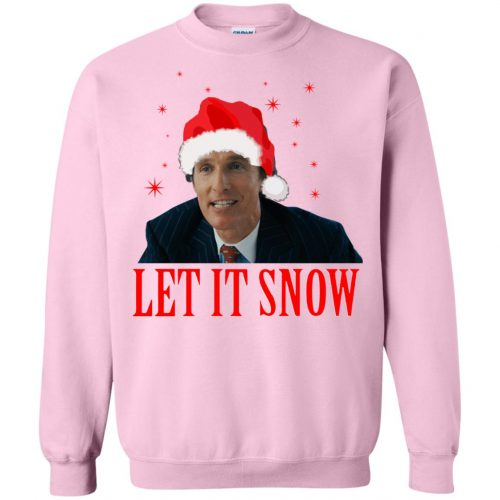 Mark Hanna Wall Street Let It Snow Sweater, Hoodie - image 648 500x500
