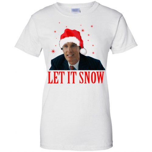Mark Hanna Wall Street Let It Snow Sweater, Hoodie - image 649 500x500