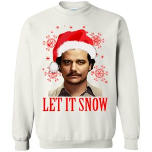 Pablo Escobar Let It Snow Sweater, Shirt, Hoodie - image 660 300x300