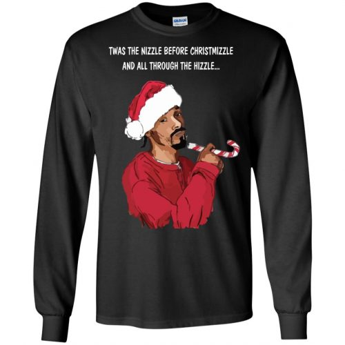Snoop Dogg twas the nizzle before Christmizzle Shirt, Sweater - image 765 500x500