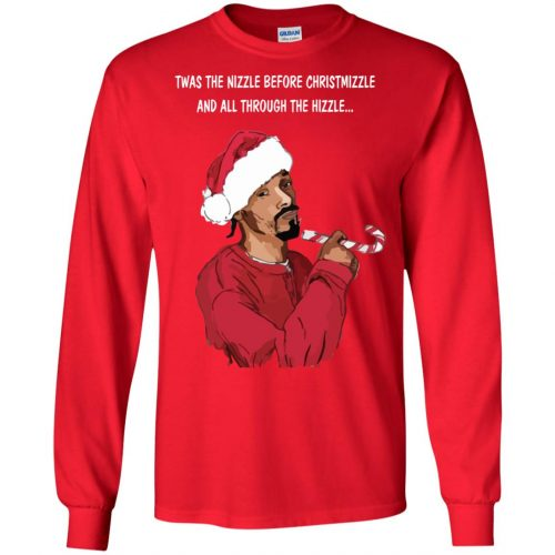 Snoop Dogg twas the nizzle before Christmizzle Shirt, Sweater - image 766 500x500