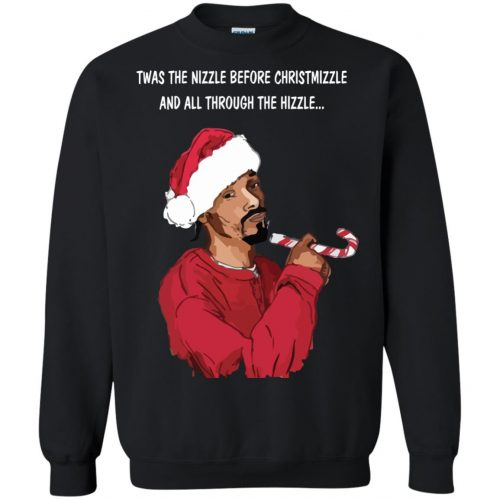 Snoop Dogg twas the nizzle before Christmizzle Shirt, Sweater - image 770 500x500