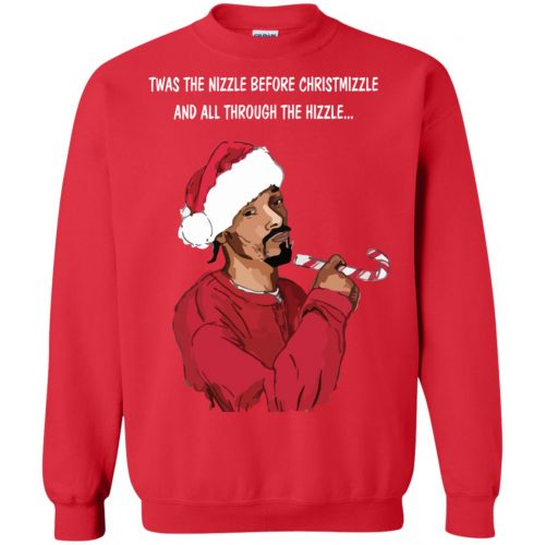 Snoop Dogg twas the nizzle before Christmizzle Shirt, Sweater - image 772 500x500