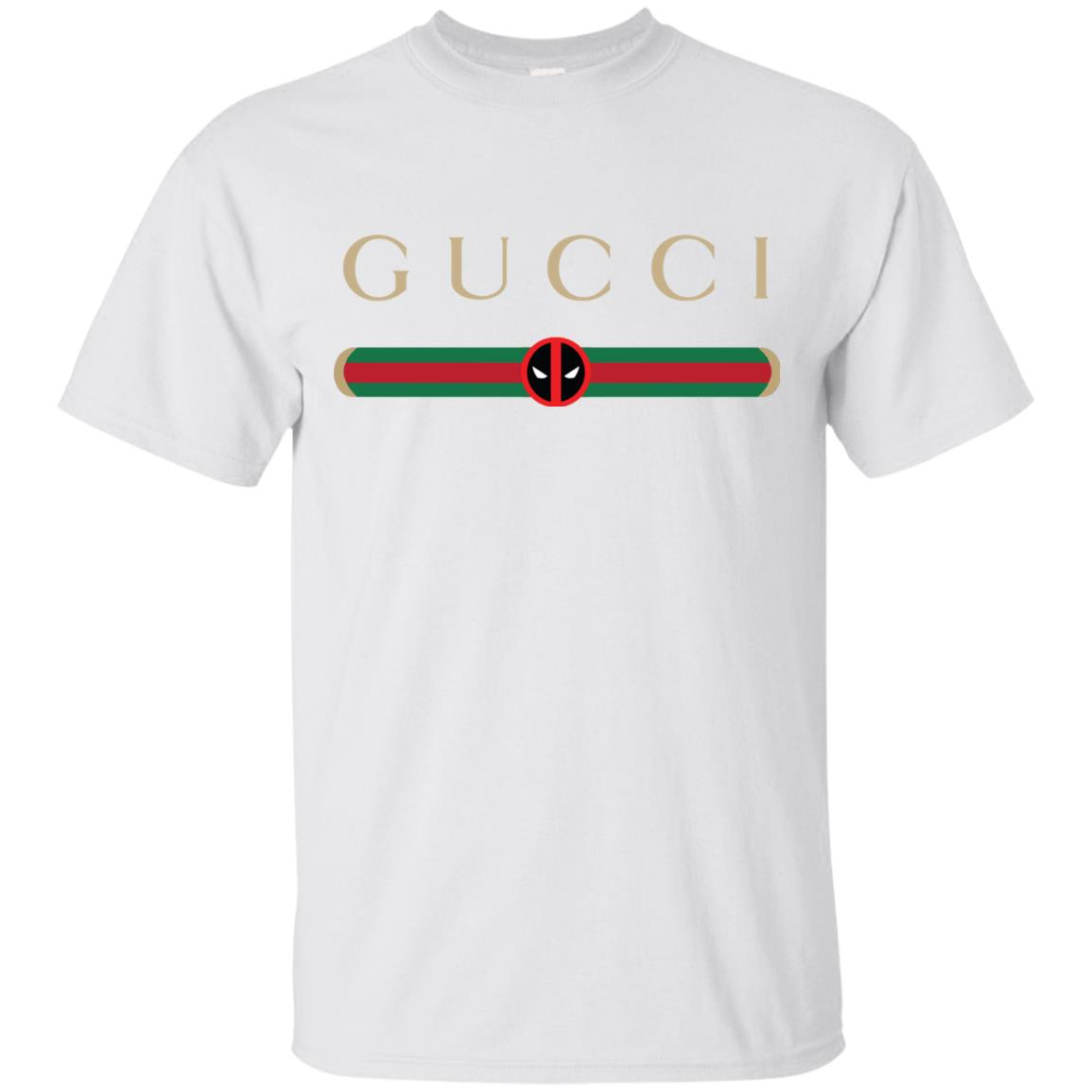 456960e4b5e Gucci Stripe Deadpool Shirt