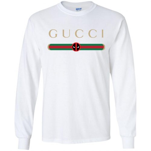 Gucci Stripe Deadpool Shirt, Hoodie - image 1954 500x500