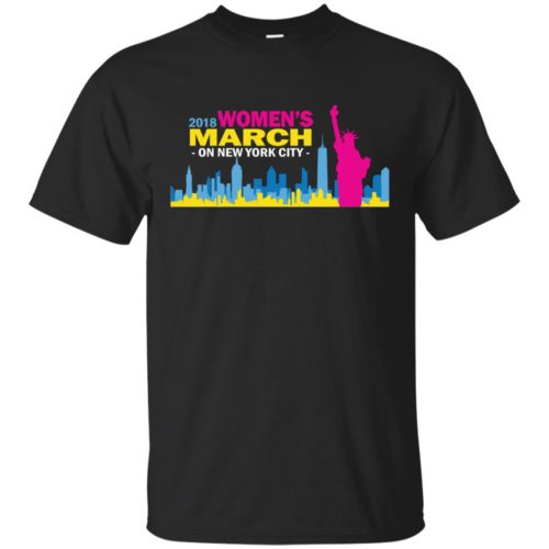 2018 Woman's March On New York Shirt, Hoodie - image 2700 500x500