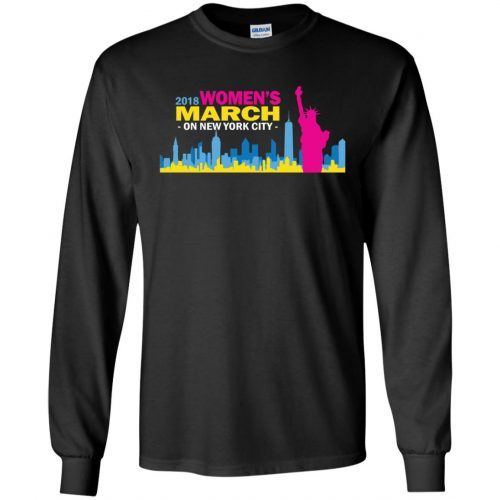 2018 Woman's March On New York Shirt, Hoodie - image 2703 500x500
