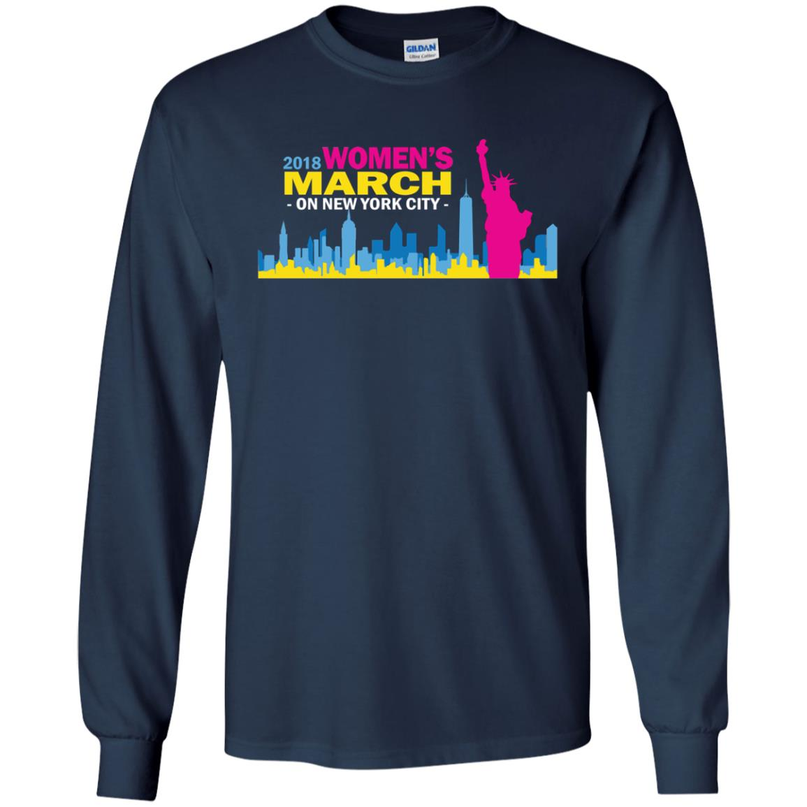 2018 Woman's March On New York Shirt, Hoodie - image 2704