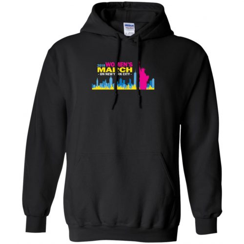 2018 Woman's March On New York Shirt, Hoodie - image 2705 500x500