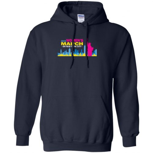 2018 Woman's March On New York Shirt, Hoodie - image 2706 500x500