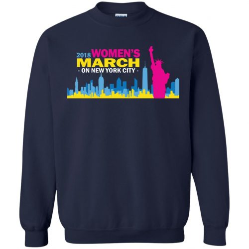 2018 Woman's March On New York Shirt, Hoodie - image 2708 500x500