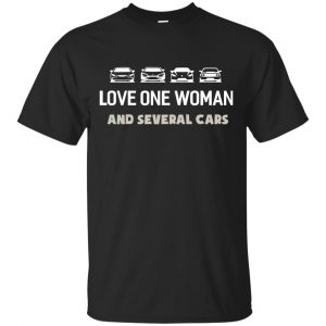 The Grand Tour: Love One Woman And Several Cars Shirt - image 3748 300x300