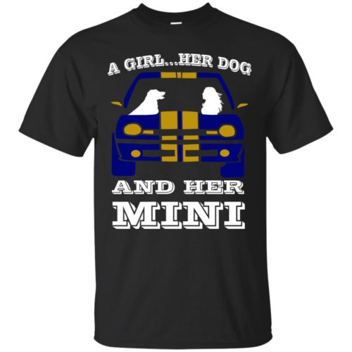 A Girl Her Dog And Her Mini Shirt - image 3787 500x500