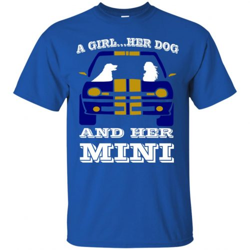 A Girl Her Dog And Her Mini Shirt - image 3788 500x500