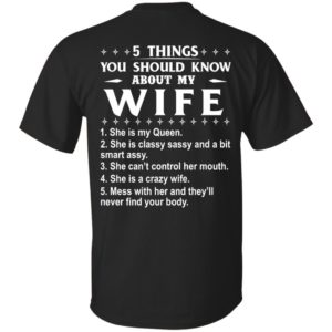 5 Things You Should Know About My wife Shirt & Sweatshirt - image 403 300x300