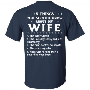 5 Things You Should Know About My wife Shirt & Sweatshirt - image 405 300x300