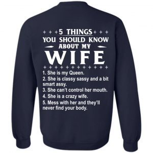 5 Things You Should Know About My wife Shirt & Sweatshirt - image 411 300x300